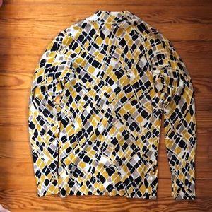 Tory Burch Sweaters - Tory Burch, animal print wool cardigan, small